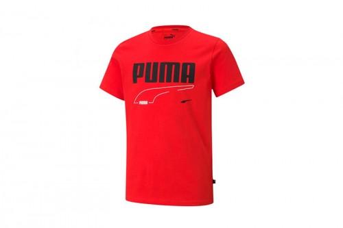 Camiseta Puma Rebel B Rojas