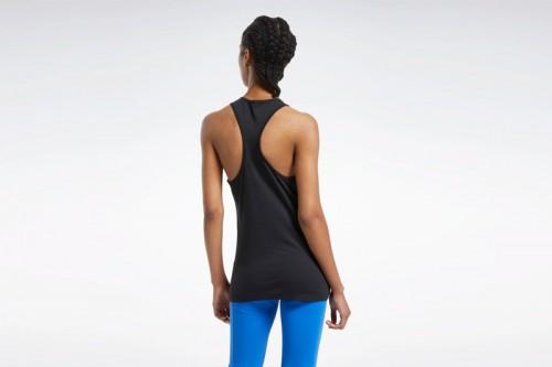 Camiseta Reebok Training Essentials Graphic Negra