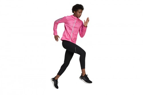 Chaqueta adidas OWN THE RUN JKT Rosa