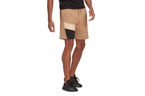 Pantalón adidas 3S tape Short Marrón
