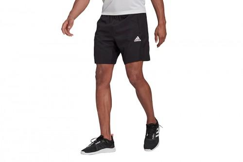 Pantalón adidas SHORTS AEROREADY DESIGNED 2 MOVE TEJIDOS SPORT Negro