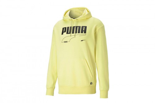 Sudadera Puma REBEL TR amarilla