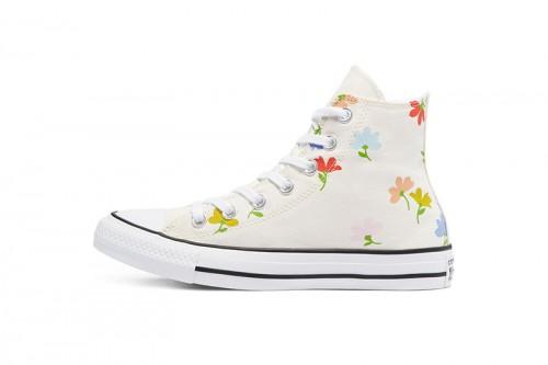 Zapatillas Converse Floral Print Chuck Taylor All Star High Top Multicolor