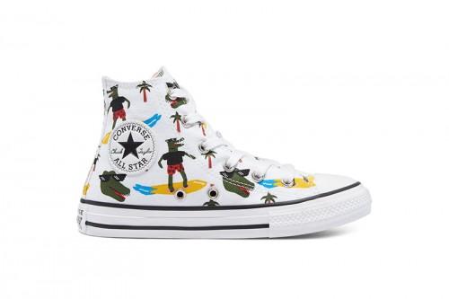 Zapatillas Converse Croco Surf Chuck Taylor All Star High Top Multicolor