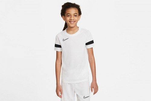 Camiseta Nike Dri-FIT Academy Big Kids' Shor blanca
