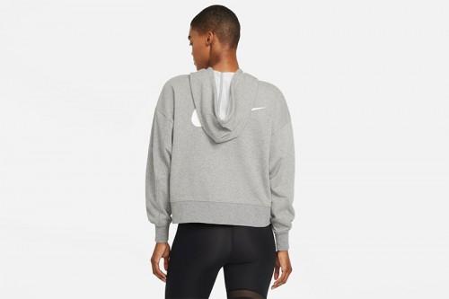 Sudadera Nike Dri-FIT Get Fit Women's Full-Z Gris