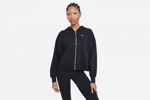 Sudadera Nike Dri-FIT Get Fit Women's Full-Z Negra