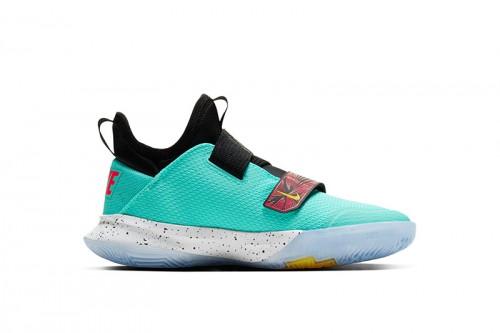 Zapatillas Nike Zoom Flight Big Kids' Basketba Azules