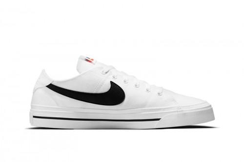 Zapatillas Nike Court Legacy Canvas Blancas