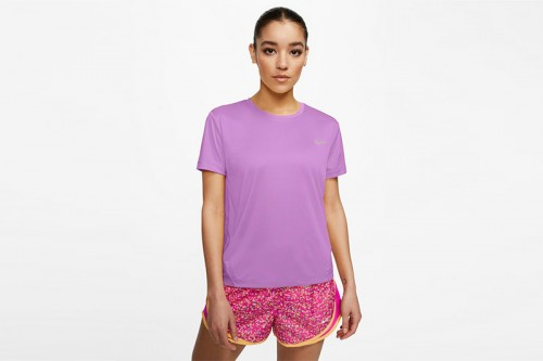 Camiseta Nike Miler morada