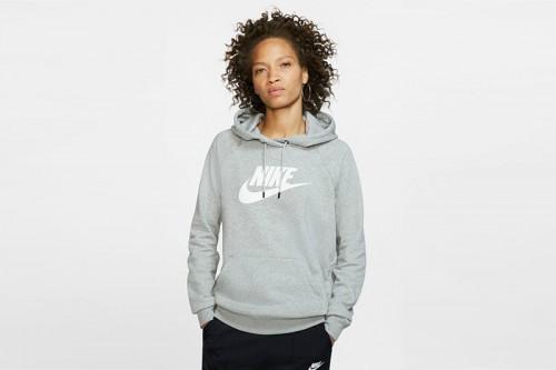 Sudadera Nike Sportswear Essential gris