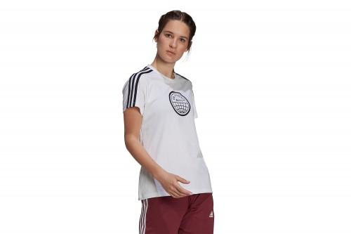 Camiseta adidas End Plastic Waste Blanca