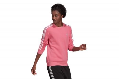 Sudadera adidas ESSENTIALS FLEECE Rosa