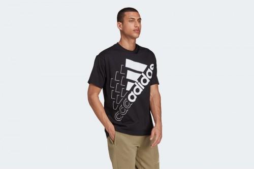 Camiseta adidas ESSENTIALS LOGO Negra