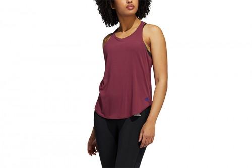 Camiseta adidas GO TO TANK 2.0 Granate
