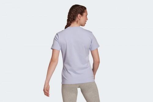 Camiseta adidas LOUNGEWEAR ESSENTIALS LOGO Violeta