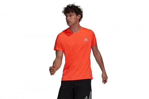 Camiseta adidas OWN THE RUN Naranja