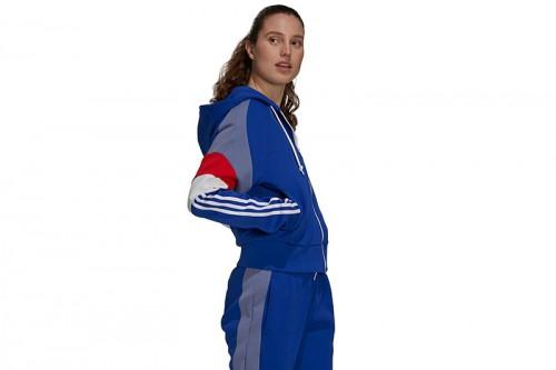 Chaqueta adidas SPORTSWEAR COLORBLOCK azul