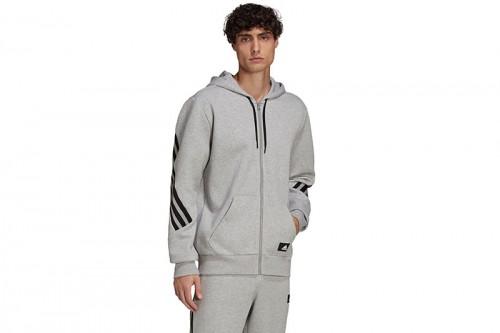 Chaqueta adidas SPORTSWEAR FUTURE ICONS 3 BANDAS gris