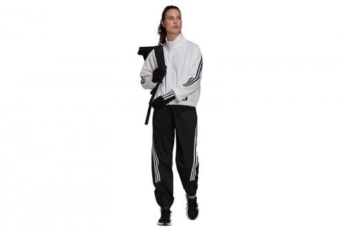 pantalon largo adidas FUTURE ICONS WOVEN negro