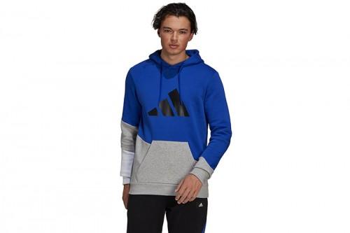 Sudadera adidas Colorblock azul
