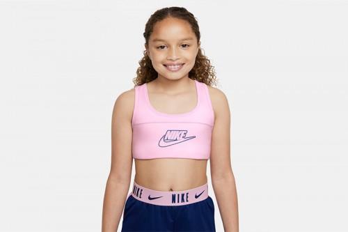 Sujetador deportivo Nike Dri-FIT Swoosh Rosa