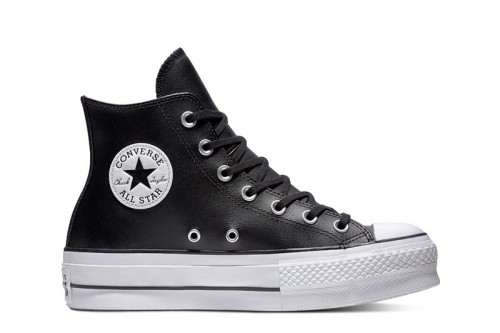 Zapatillas Converse Chuck Taylor All Star Lift Clean Negras