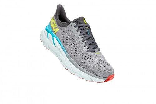 Zapatillas Hoka CLIFTON 7 Grises